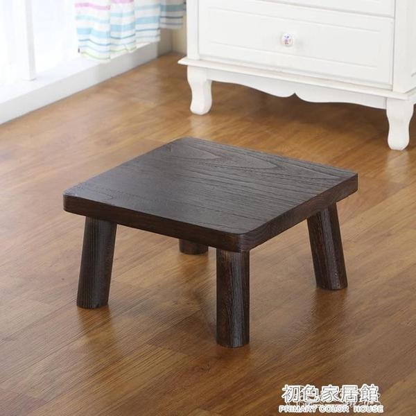 茶几 北歐日式飄窗小茶幾實木矮桌榻榻米上的小木桌子陽台窗台方桌炕幾 NMS初色家居館