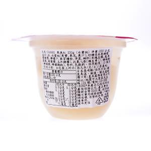 日本TARAMI果凍杯水蜜桃230g