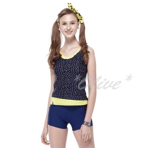 ☆小薇的店☆沙兒斯新款【白色小圓點】時尚兩件式泳裝特價1180元NO.B92612(S-2L)