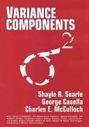二手書博民逛書店 《Variance Components》 R2Y ISBN:0471621625│Wiley-Interscience