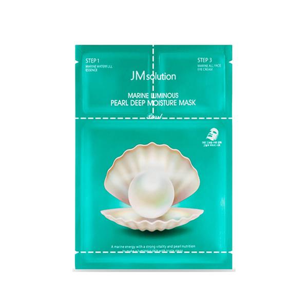 韓國 JMsolution 海洋珍珠三步曲面膜(1.5ml+1.5ml+27ml)【小三美日】