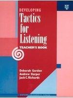 二手書博民逛書店 《Developing Tactics for Listening (Teacher)》 R2Y ISBN:0194346552│JackC.Richards