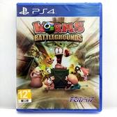 PS4 百戰天蟲 戰地 英文版 Worms Battlegrounds 全新珍藏如圖