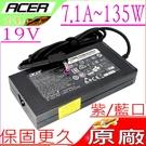 ACER 19V,7.1A, 135W 充電器(原廠薄型)-宏碁 VN7-591G,VN7-791G,VN7-592G,VN7-792G,A715-72G,A717-71G,A517-51G