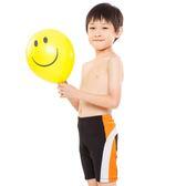 ★奧可那★ 黃白條紋泳褲