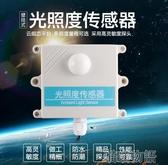 亮度計-485高精度光照度傳感器模塊光強度檢測照度儀高靈敏度探頭壁掛式 喵喵物語