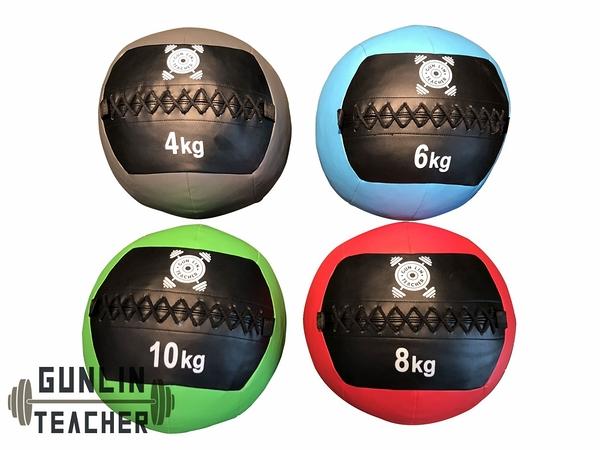 -槓鈴老師健身器材-  牆球 Medicine Ball  28KG 套裝組 重量訓練 健身器材