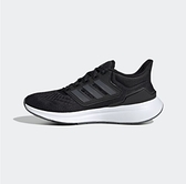 Adidas EQ21 女款 黑色 透氣 運動 慢跑鞋 H00544【KAORACER】