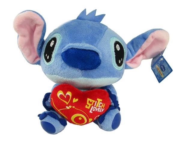 【卡漫城】 史迪奇 玩偶 愛心 32cm ㊣版 絨毛娃娃 擺飾佈置 星際寶貝 Stitch 布偶 迪士尼 求婚禮物
