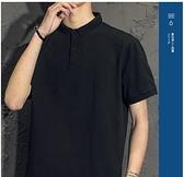 短袖Polo衫 短袖T恤男士潮流夏季2021新款潮牌男裝休閒翻領polo衫半袖上衣服 非凡小鋪 新品