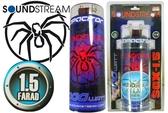 公司貨 付線組 SOUND STREAM 蜘蛛 SCX-1.5 高容量電容 重低音電容 1.5FARAD 毒蜘蛛 黑蜘蛛