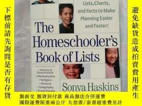 二手書博民逛書店The罕見Homeschooler s Book of List