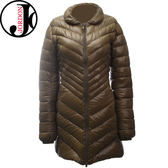 JORDON 橋登 JD1970I-石褐 女輕量羽絨外套 輕量化羽絨衣/可收納羽絨衣/保暖羽絨外套