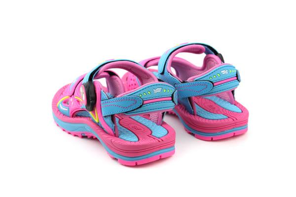 GP(Gold.Pigon) 涼鞋 童鞋 粉色 中童 no728