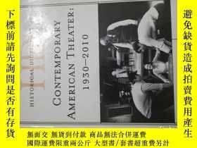 二手書博民逛書店Historical罕見Dictionary of Contemporary American Theater: