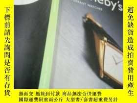 二手書博民逛書店SOTHEBYS罕見important watches 2002