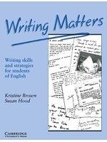 二手書《Writing matters : writing skills and strategies for students of English》 R2Y ISBN:0521348951