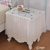防灰塵電飯鍋茶杯蓋巾家用廚房蓋布防塵布遮蓋清新隔臟洗衣機 【快速出貨】