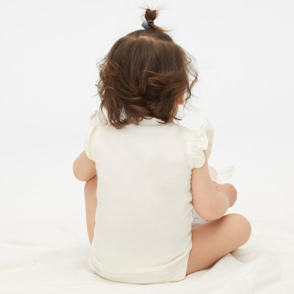 Gap女嬰兒 趣味字母印花短袖連身衣 442586-媽媽印花