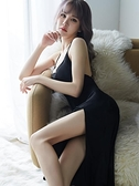 冰絲睡衣 內衣睡裙露背蕾絲吊帶冰絲性感睡衣薄款透明