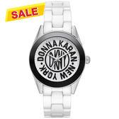 DKNY 紐約時尚25週年全球限量陶瓷腕錶/手錶-36mm NY2154