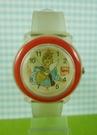【震撼精品百貨】Disney 迪士尼 Pocahontas_風中奇緣~手錶-圓形白底透明錶面-紅色外圈【共1款】