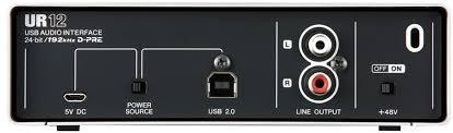 凱傑樂器 YAMAHA Steinberg UR12 USB  錄音卡