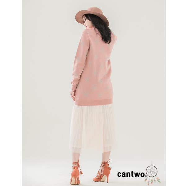 cantwo細褶網紗長裙(共二色)~網路獨家