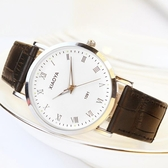 情侶手錶  2019年新款手錶男女學生正韓簡約時尚潮流夜光防水皮帶石英情侶錶 交換禮物