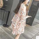 孕婦裝夏季上衣雪紡孕婦連衣裙GZG645【每日三C】