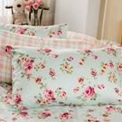 枕套 / 枕頭套一入【玫瑰粉格】100%...