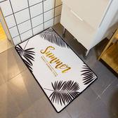 【中秋好康下殺】門墊葉子入戶地墊腳墊衛浴室臥室廚房柔軟防滑衛生間客廳吸水墊子
