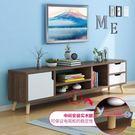 電視櫃 北歐電視櫃茶几組合現代簡約小戶型實木電視機櫃簡易客廳臥室地櫃T 3色