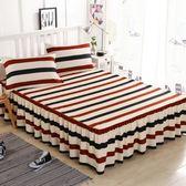 床裙席夢思韓式床罩 床套 床蓋床單單件床笠【優兒寶貝】