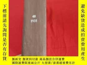 二手書博民逛書店THE罕見PHYSICAL REVIEW (48卷) (1935) (大16開,硬精裝) 【詳見圖】Y5460