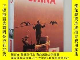 二手書博民逛書店德語原版書罕見Polyglott Apa Guide, Chin
