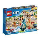 樂高積木 LEGO《 LT60153 》CITY 城市系列 - 沙灘人偶套組╭★ JOYBUS玩具百貨