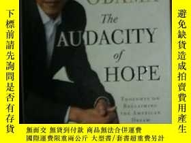 二手書博民逛書店The罕見AUDACITY OF HOPEY3615 BARAC