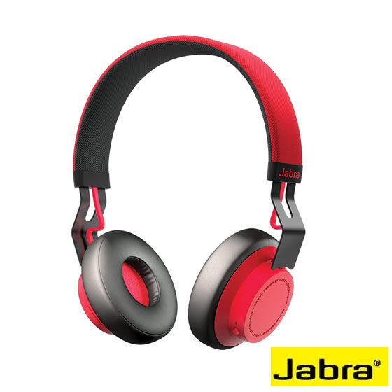 Jabra 捷波朗 Move Wireless 紅 頭戴式藍牙耳機 耳罩式藍芽 雙待機無線 移動生活就是簡單
