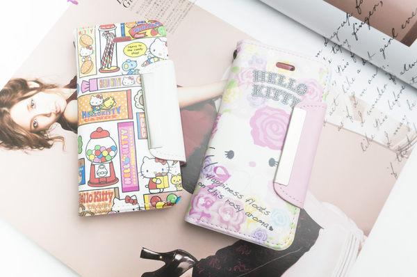 MQueen膜法女王 APPLE iphone5 ise i5s SAMSUNG Note2 Hello Kitty 凱蒂貓 磁釦 彩繪 手機套 側掀 皮套 磁扣