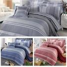 【FITNESS】精梳棉雙人加大四件式被套床包組-安德里 (3款)_TRP多利寶