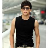 背心男夏季純棉內穿緊身寬肩無袖t恤男士健身運動坎肩修身型打底 滿天星