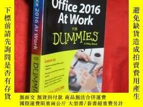 二手書博民逛書店Office罕見2016 at Work for Dummies