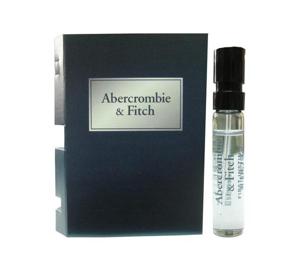 岡山戀香水~Abercrombie & Fitch 湛藍男性淡香水2ml~優惠價:60元