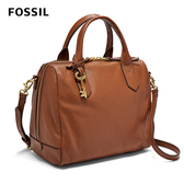 FOSSIL FIONA 真皮醫生包-咖啡色 ZB7268210