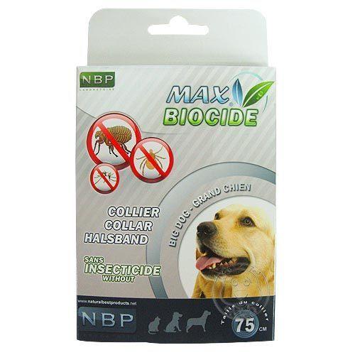 【培菓幸福寵物專營店】西班牙《NBP》防蚤頸圈 (大型犬用)
