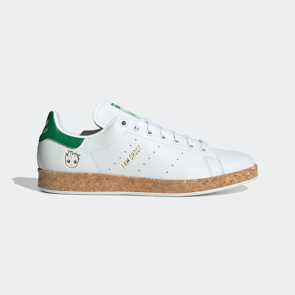 Adidas Stan Smith [GZ3099] 男女鞋 運動 休閒 漫威 格魯特 舒適 穿搭 愛迪達 白 綠
