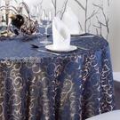 桌布桌布圓桌餐布酒店桌布大圓桌台布飯店家用桌布布藝歐式椅套定制快速出貨YJT