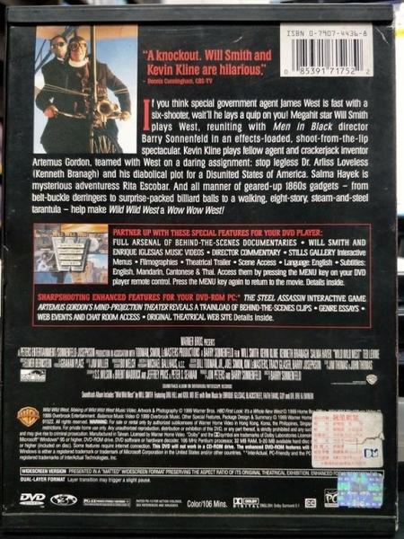 挖寶二手片-Q37-005-正版DVD-電影【飆風戰警】-威爾史密斯 凱文克萊 肯尼斯布萊納 莎瑪海耶克(直