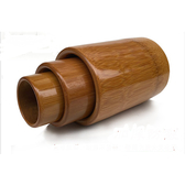 家用炭化竹罐拔火罐10個一套裝竹火罐拔罐器竹子制拔罐竹吸筒 叮噹百貨